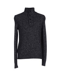 Boss Orange Knitwear Turtlenecks Men Black
