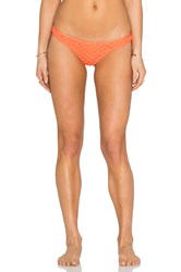 Seafolly Mesh About Rio Pant Bottom Orange