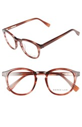 Derek Lam Women's 48Mm Glasses Rust Feather