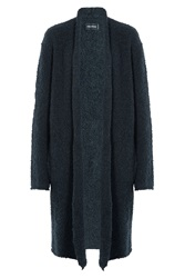 Zadig And Voltaire Cardigan With Wool And Mohair Blue