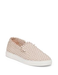 Vince Camuto Bimmy Woven Slip On Sneakers Silver