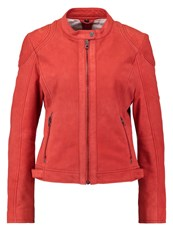 Gipsy Leather Jacket Secret Red