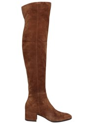 Gianvito Rossi 45Mm Suede Over The Knee Boots