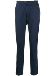 Tommy Jeans Slim Fit Chino Trousers Blue