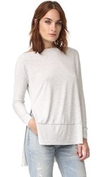Free People Luna Tee Grey