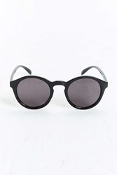 Urban Outfitters Plastic Round Sunglasses Black