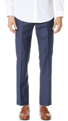 Brooklyn Tailors Super 120 Wool Suit Trousers Bright Navy