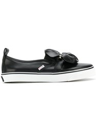 Red Valentino Pierced Bow Sneakers Black
