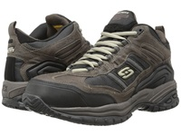 Skechers Soft Stride Canopy Brown Black Men's Work Boots