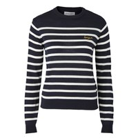 Maison Labiche Bonjour Striped Jumper Blue Off White