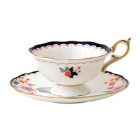 Wedgwood Wonderlust Teacup And Saucer Jasmine Bloom