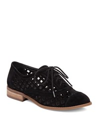 Jessica Simpson Dalasia Cut Out Oxfords Black
