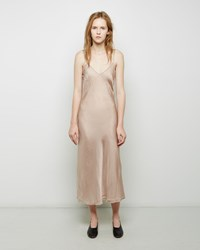 Organic By John Patrick Long Bias Slip Nude