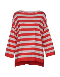 Kangra Cashmere Sweaters Coral