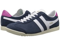 Gola Bullet Suede Navy White Women's Shoes Blue