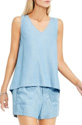 Vince Camuto Women's Two By Chambray Tank
