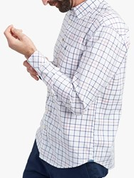 Joules Welford Check Shirt Chalk Multi Check