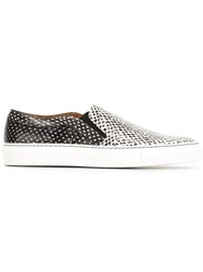 Givenchy Snakeskin Sneakers Black