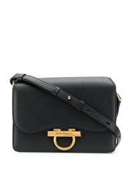 Salvatore Ferragamo Gancini Crossbody Bag Black