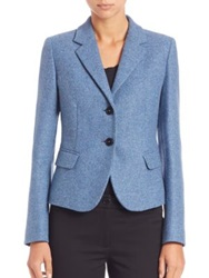 Max Mara Gonzaga Tweed Blazer Corn Flower
