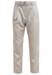 More And More Trousers Linen Beige