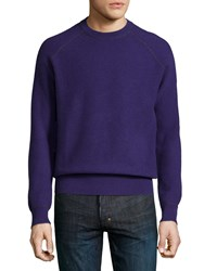 Neiman Marcus Cashmere By Billy Reid Sweater Purple