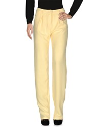 Versace Jeans Couture Casual Pants Yellow