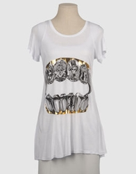 Lauren Moshi Short Sleeve T Shirts White