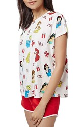 Women's Topshop Christmas Disney Princess Pajamas