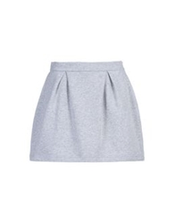 George J. Love Mini Skirts Grey