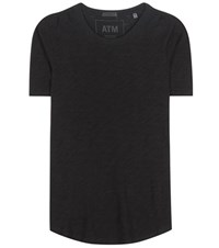 Atm Anthony Thomas Melillo Cotton T Shirt Black