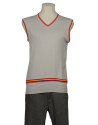 Daniele Alessandrini Homme Sweater Vests Light Grey