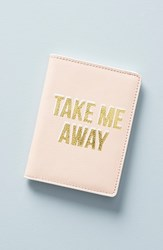 Anthropologie Celeste Passport Cover Pink Sugar