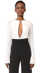 Jay Ahr Blouse Ivory Silver