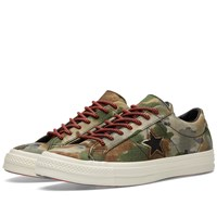 Converse One Star '74 'Camo' Black