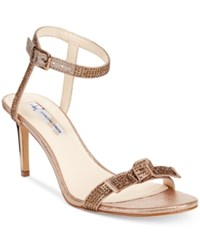 Inc International Concepts Laniah Evening Sandals Only At Macy's Women's Shoes Light Bronze