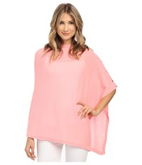 Lilly Pulitzer Harp Cashmere Wrap Cheeky Melon Women's Sweater Pink