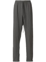 Lost And Found Rooms Relaxed Pants Linen Flax Grey