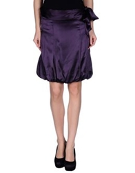 Cristinaeffe Mini Skirts Mauve