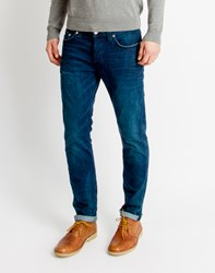Only And Sons Mens 5 Pocket Regular Jeans Blue