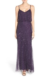Adrianna Papell Women's Embellished Blouson Gown