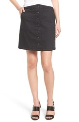 Women's Two By Vince Camuto Button Front A Line Miniskirt