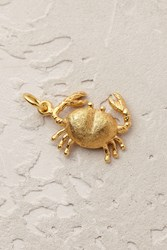 Mirabelle Tropical Crab Charm Gold