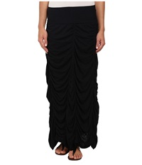 Xcvi Jersey Peasant Skirt Black Women's Skirt