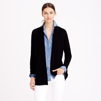 J.Crew Collection Cashmere Long Open Cardigan Sweater