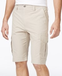 Ocean Current Men's Peached Cargo Shorts Stone