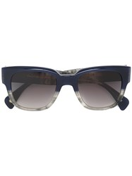 Paul Smith 'Eamont' Sunglasses Blue