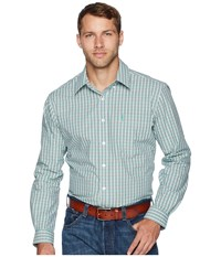 Cinch Modern Fit Basic Multicolored Long Sleeve Button Up