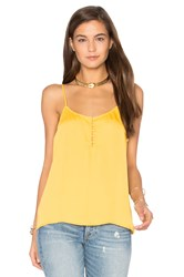L'academie The Button Cami Yellow