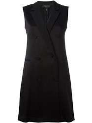 Rag And Bone Double Breasted Shift Dress Blue